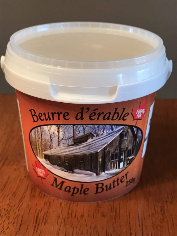 Maple Butter Container
