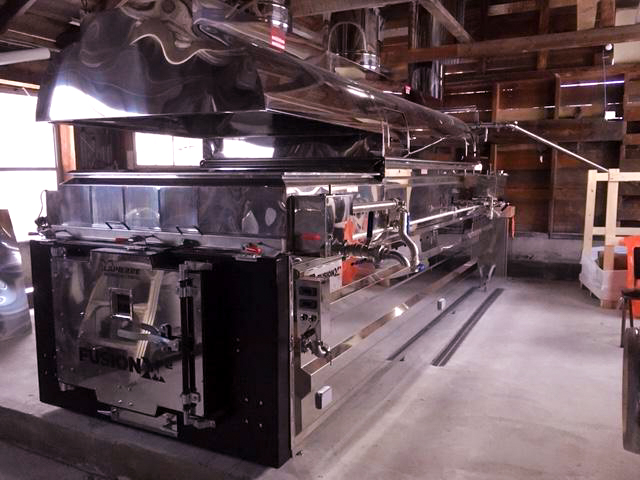 New Wood Fire Evaporator for syrup making